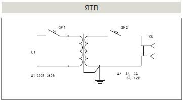 Трансформатор 380 220 36 схема подключения